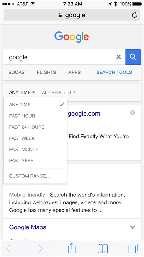 Search Filter Is Removing The Custom Date Range Search Filter For Mobile Users Blogs Airs