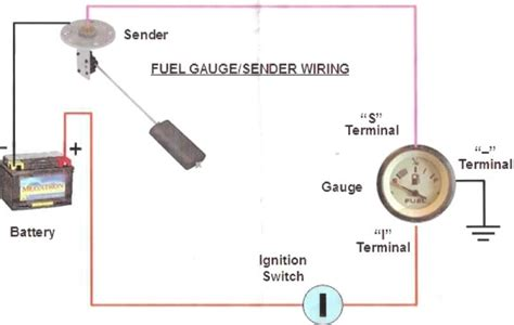 boat gas tank sending unit wiring diagram fuel