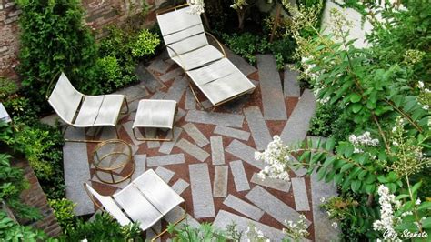 Small City Garden Ideas, Beautiful Urban Courtyard Designs