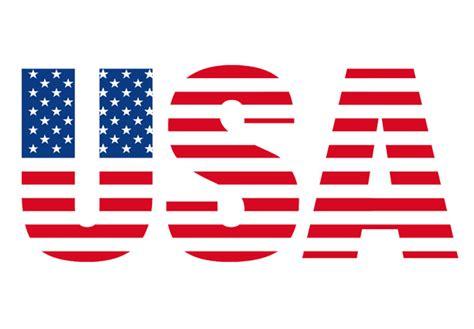 design logo usa usa schriftzug