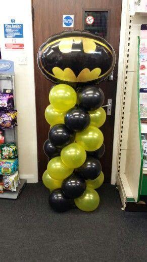 decorar globos superheroes ideas para decorar con globos con tem 225 tica de batman