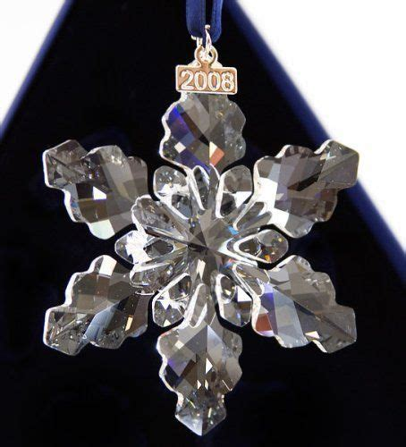 swarovski 2008 annual limited edition christmas ornament