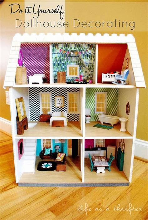 diy doll house do it yourself dollhouse decorating dollhouses diy dollhouse and diy and crafts