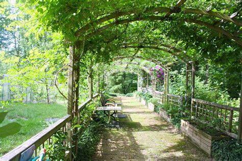 Garden Arbor Path Free Photo Pergola Shady Walk Garden Walk Free Image