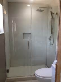 how to install a frameless glass shower door frameless shower glass doors