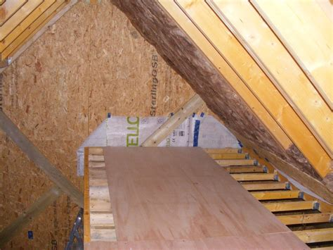 attic ceiling insulation insulating the roof