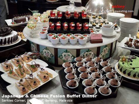 e o hotel new year buffet sarkies corner e o hotel penang malaysia now
