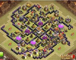 Top 5 clash of clans town hall 8 defense bases recommendation