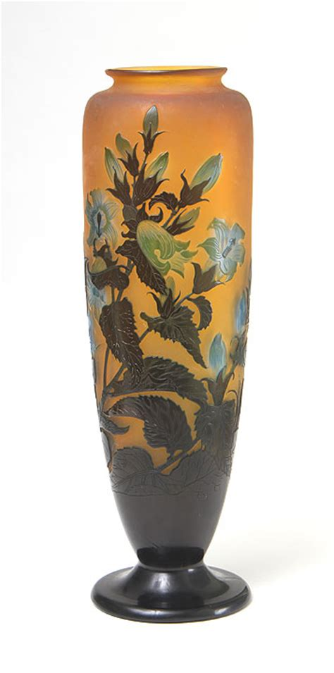 Galle Vases by Emile Galle Philip Chasen Antiques