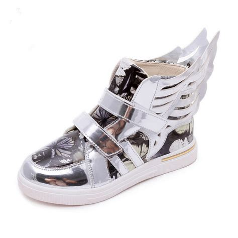 Wings New Led Shoes Silver Kecil popular wing sneakers buy cheap wing sneakers lots from