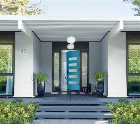 do you paint both sides of a front door the same color elegant blue house door 21 cool blue front doors for