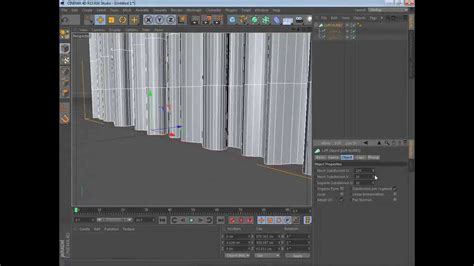 c tutorial quick cinema 4d quick tutorial how to make a simple curtain