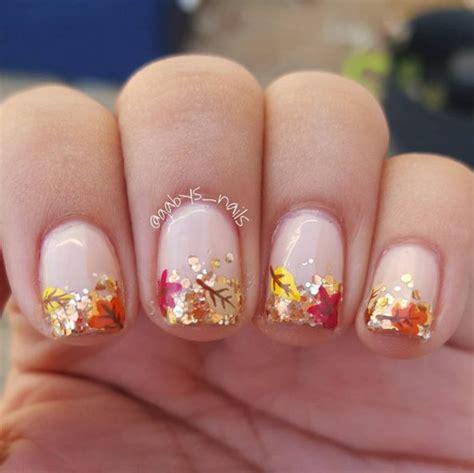 leaf pattern nails best 20 fall nail art ideas on pinterest cute fall