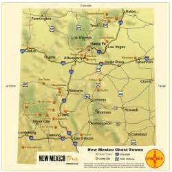 ghost towns of new mexico trail map new mexico true
