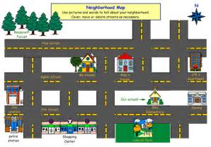 neighborhood map use these social studies exles to integrate