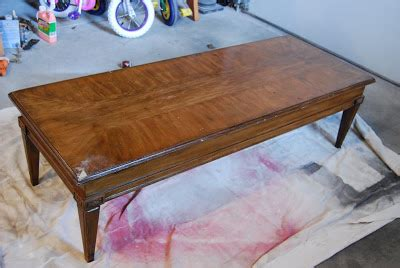 turn a coffee table into a bench inspired by you coffe table turned bench