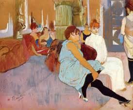 the salon in the rue des moulins henri de toulouse