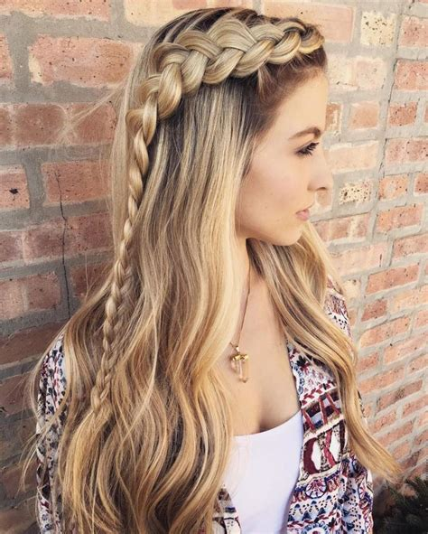 Braided Hairstyles For With Hair by 25 Best Ideas About Hairstyles On Braids