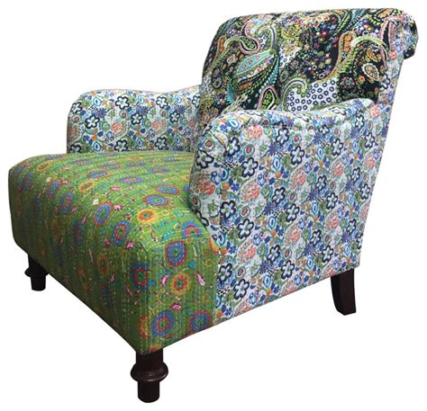 Colorful Accent Chair Jazztine Colorful Arm Chair Eclectic Armchairs And Accent Chairs