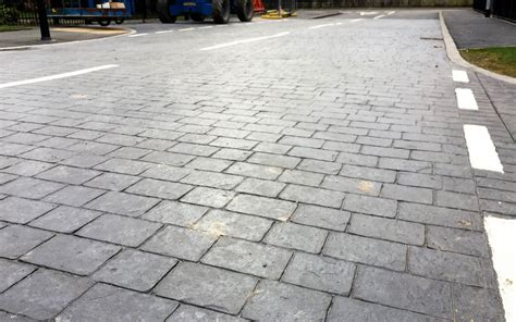pattern imprinted concrete ideas choosing pattern imprinted concrete over tarmac pattern