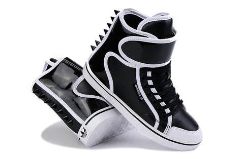 womens high top sneakers adidas beautiful adidasals rivet high top shoes black white