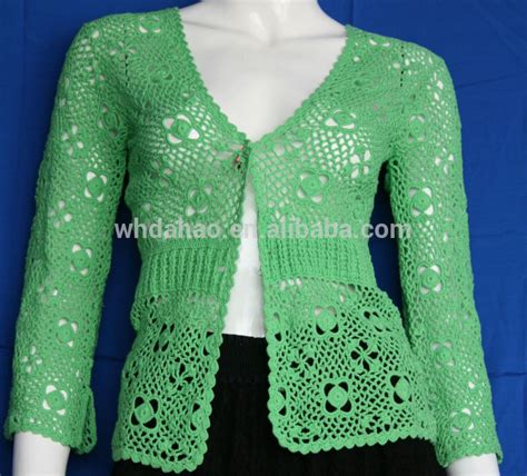 Handmade Sweater - sleeve cardigan handmade crocheted custom