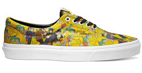 Harga Vans Yellow Submarine iconic band tribute sneakers vans x the beatles