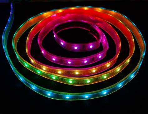 Led Rgb Light Strips Power Lpd8806 Digital Rgb Led Adafruit Learning System