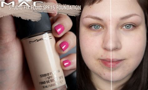 Mac Studio Fix Fluid Foundation mac studio fix fluid foundation nw10 review