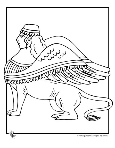 Sphinx Coloring Page Sphinx Coloring Page Az Coloring Pages by Sphinx Coloring Page