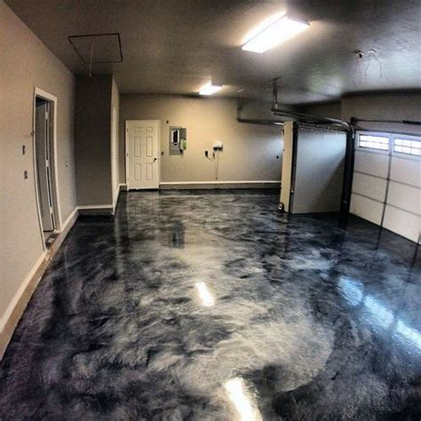 cool epoxy grey paint ideas for garage floors diy home