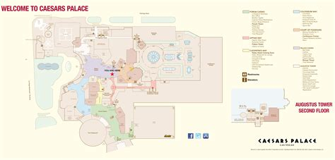 caesars palace floor plan caesars palace towers map my blog