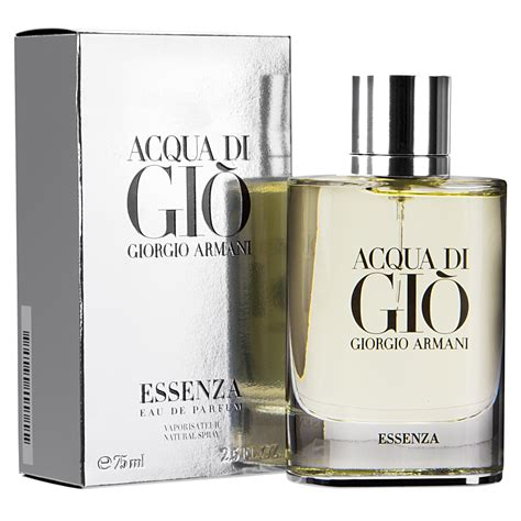 Parfum Acqua Di Gio Armani giorgio armani acqua di gio essence eau de parfum 75ml