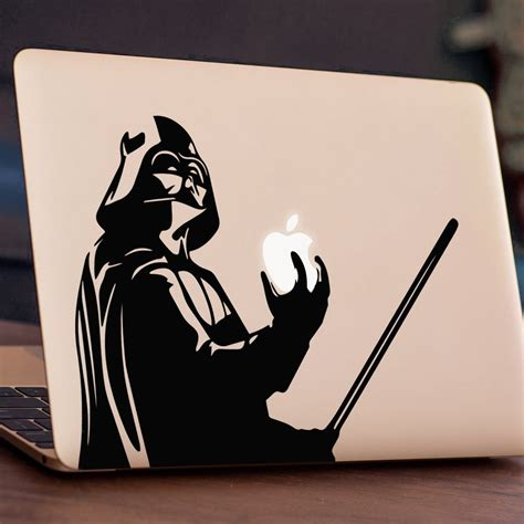 Decalandsticker Vinyl Macbook Hitam darth vader macbook vinyl decal sticker londondecal