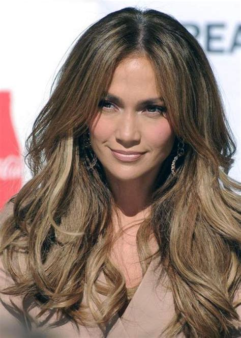 celebrity hairstyles color highlights light highlights in brown hair celebrity inofashionstyle com