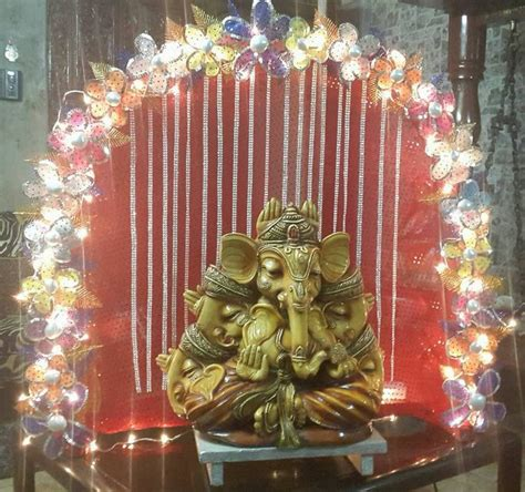 simple home decorating ideas photos ganesh chaturthi decoration ideas ganesh pooja decor