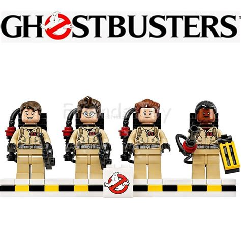 alibaba lego 4pcs set ghostbusters block figure building bricks movie