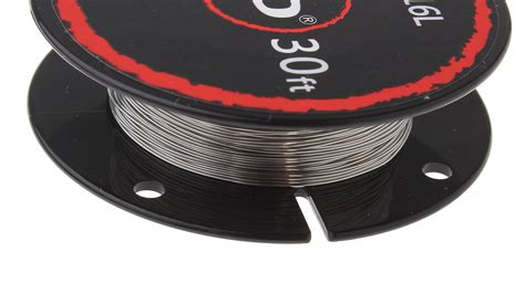 Dijamin Authentic Ud Stainless Steel Wire 32 Awg 0 2mm Vapor Rda 1 74 authentic ud 316l stainless steel resistance wire