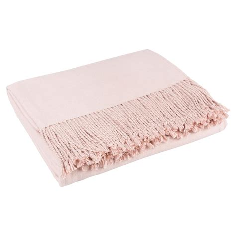 Throw Blankets by Hardy Classic Silk Throw Blanket Blush Pink