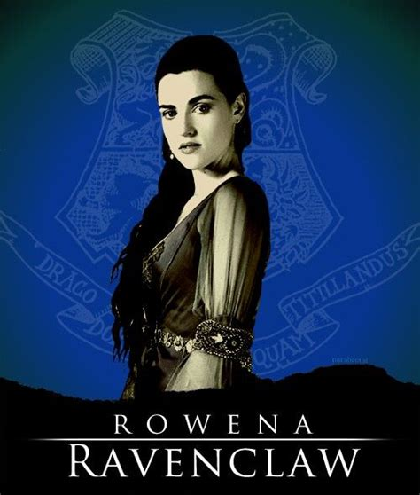 Rowena And Arianna rowena ravenclaw co founder of hogwarts portrayed by