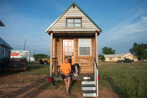 tiny house tx west town finds tiny house crowd a bit earthy
