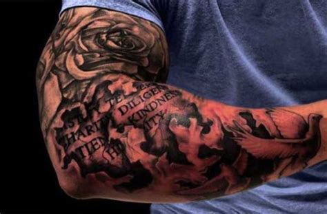 tattoo arm ideas man sleeve tattoos for men tattoofanblog