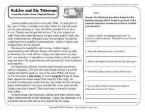galileo and his telescope 3rd grade reading