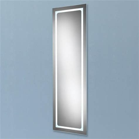 tall bathroom mirror hib tall alto led backlit bathroom mirror w425 x h1400mm