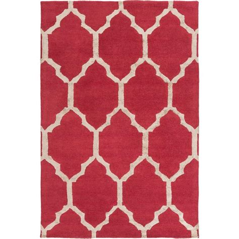 burgundy area rugs 8 x 10 artistic weavers anzio burgundy 8 ft x 10 ft indoor area rug s00151029176 the home depot