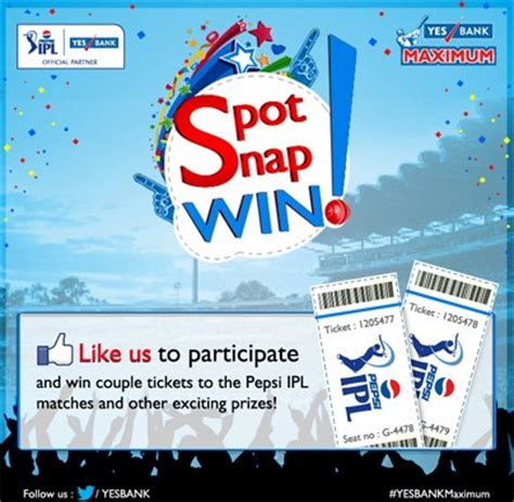 contest in india social media caign review yes bank spot snap win