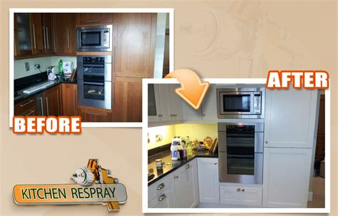 respray kitchen cabinets have you considered a kitchen respray