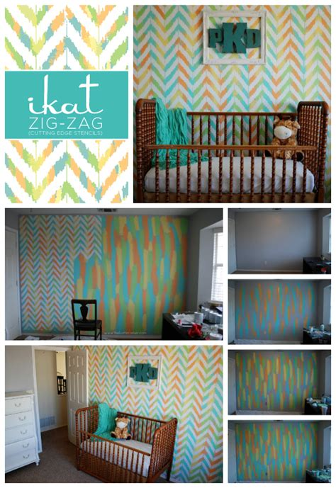 room stencils sugar and spice nursery rooms stenciled so