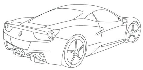coloring pages ferrari cars ferrari italia f12 coloring page ryan pinterest
