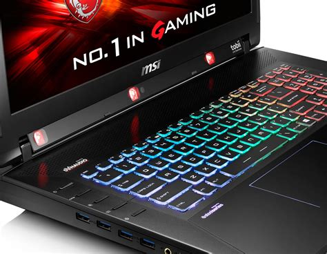 ces 2016 msi gaming notebooks and mobile workstations